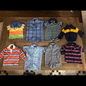 Lot of baby Ralph Lauren clothes